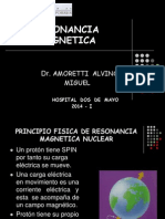 Resonancia Magnetica Usmp 2014-i