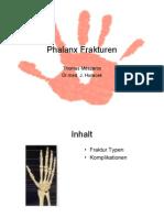 Phalanx Fraktur