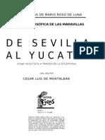 130864112 Roso de Luna de Sevilla Al Yucatan Tomos I y II