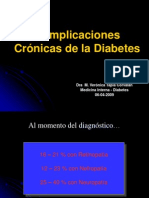 Complicaciones Crónicas - Dra. Tapia