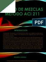 Diseño de Mezclas Metodo Aci 211