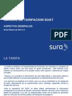 Manual Tarifacion