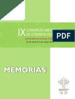 Memorias IX CME