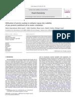 Utilisation of Pectin Coating to Enhance Spray-dry Stability