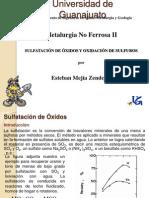 Sulfatación de ÓxidosoEsteban2