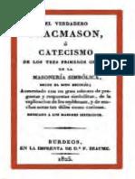 El Verdadero Francmason -Rituales[1829]_1