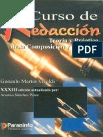 Gonzalo Martín Vivaldi - Curso de Redacción