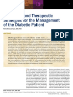 Profed Art Diagnostic Therapeutic Strategies Manage of Diab Patient