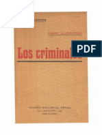 135818072 Los Criminales Cessare Lombroso PDF