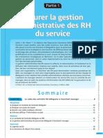 Assurer La Gestion Administrative Des RH Du Service