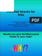 Fortified Snacks for Kids