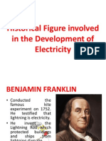 Historical Figure in Electricity