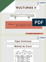 05 Vigas Continuas - Metodo de Cross - Estructuras II - UPAO