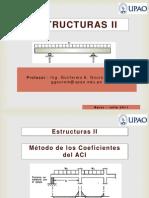 08 Metodo de Los Coeficientes Del ACI - Estructuras II - UPAO
