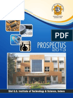 SGSITS Prospectus 2013