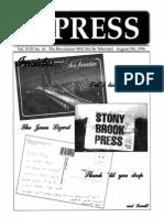 The Stony Brook Press - Volume 17, Issue 16