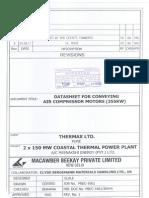 Approval of 355kW 6.6kV Comp. Motor