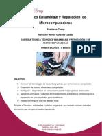 Ensamblaje y Reparación de Microcomputadoras