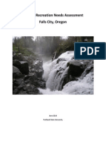 Falls City, OR Parks Assessment