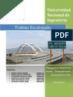 Puente Matagente- Cadena procesos