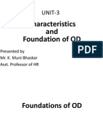 Foundations of OD