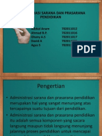 Administrasi Sarana Dan Prasarana Pendidikan