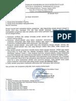 Surat Pemberitahuan Verval Dapodik 2014