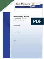 Serology Assignment Edited Version