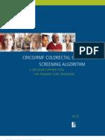 Colorectal Screening Algorithm