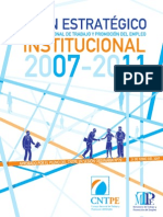 Plan Estrategico CNTPE 2007-2011