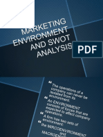 CHAPTER 2- Marketing Environmwnt & SWOT Analysis