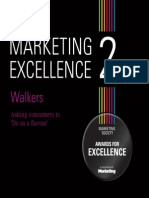 Marketing Excellence 2 Walkers Case Study
