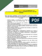 Requisitos Inscripcion Empresas EIA