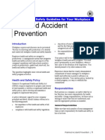 Accident Prevention Plan