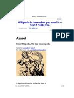 azazel - wikipedia, the free encyclopedia