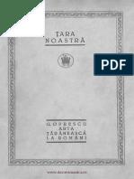 G. Oprescu, Arta Taraneasca La Romani