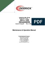 Vacu-Flo Degasser Manual t