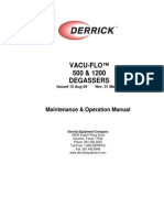 Vacu-Flo Degasser Manual t