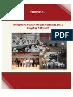 Proposal Opmn 2013