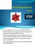 Stellated Dodekahedron Kecil