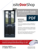 Composite Door Installation Guide