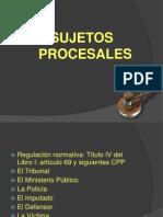 2.Pp Sujetos Procesales