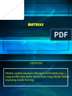 Materi Matriks SMK AP