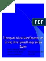 Homopolar Inductor MotorGenerator-1