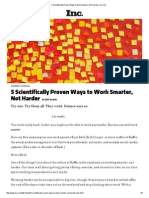 5 Scientifically Proven Ways to Work Smarter, Not Harder _ Inc
