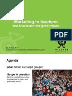 230514_Marketing to teachers -Ecsite 2014 (FINAL).pptx