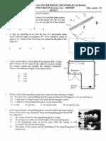 Revision of Optics 1