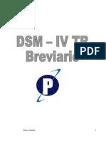 DSM IV TR Breviario
