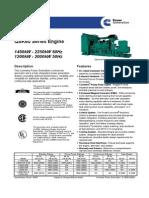 QSK60 Series 50hz