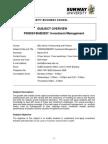 FIN3024 Module Outline Mar 2014
